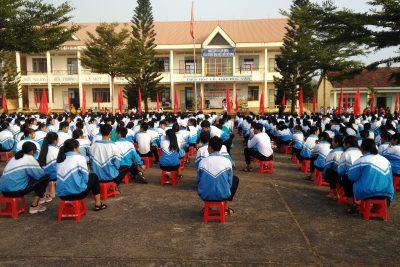 Tổ chức các hoạt động kỷ niệm 88 năm ngày thành lập Đoàn TNCS Hồ Chí Minh (26/03/1931-26/03/2019) và khai mạc Hội khỏe Phù Đổng cấp Trường.
